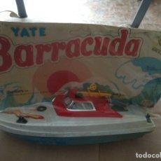 Videojuegos y Consolas: YATE BARRACUDA SHAMBERS EN BLISER ANTIGUO JUGUETE DE KIOSKO . Lote 172305039