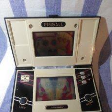 Videojuegos y Consolas: MAQUINITA CONSOLA NINTENDO PINBALL.AÑO 1983. Lote 173102045