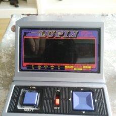 Videojuegos y Consolas: MAQUINITA - TOMY - LUPIN - VINTAGE AÑOS 80S ARCADE TIPO GAME & WATCH LSI VFD LCD. Lote 173504358