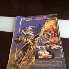 Videojuegos y Consolas: ANTIGUA REVISTA INPUT 1982 COLECCIONABLE DE PROGRAMACIÓN VIDEOJUEGOS. Lote 173519505