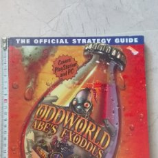 Videojuegos y Consolas: ODDWORLD ABE´S EXODDUS THE OFFICIAL STRATEGY GUIDE RUSEL DEMARIA IDIOMA INGLÉS. Lote 173588782