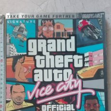 Videojuegos y Consolas: GRAND THEFT AUTO VICE CITY OFFICIAL STRATEGY GUIDE TIM BOGENN IDIOMA INGLÉS. Lote 173589335
