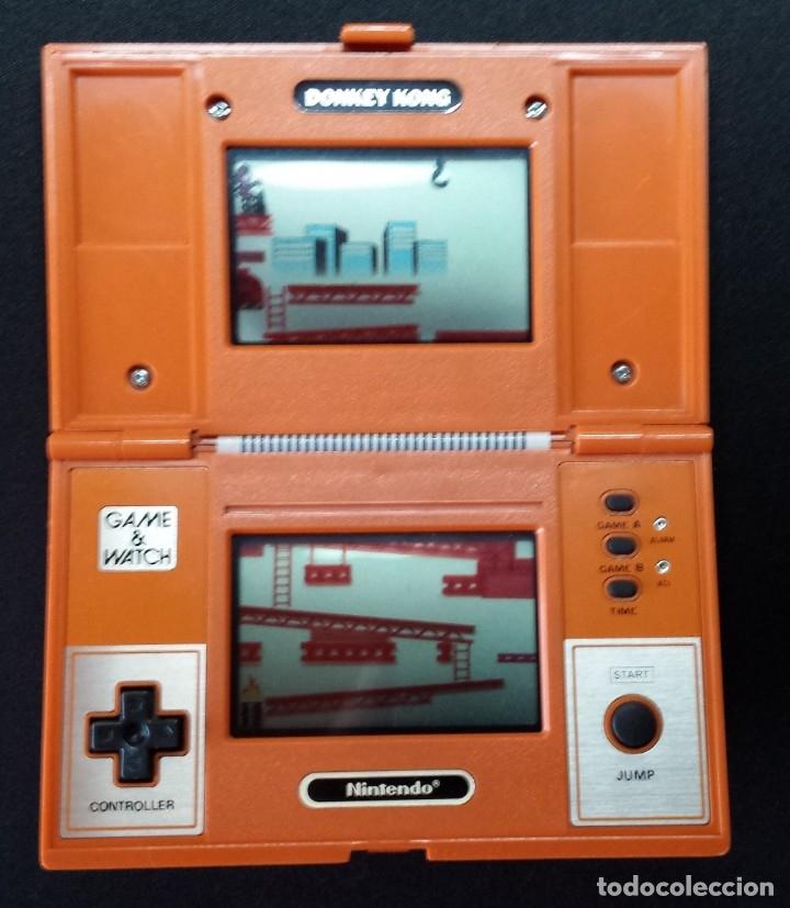 NINTENDO GAME AND WATCH DONKEY KONG (Juguetes - Videojuegos y Consolas - Otros descatalogados)