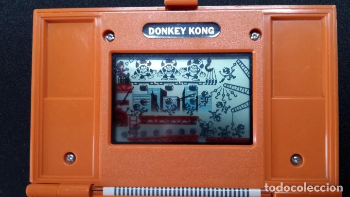 Videojuegos y Consolas: NINTENDO GAME AND WATCH DONKEY KONG - Foto 3 - 173795012