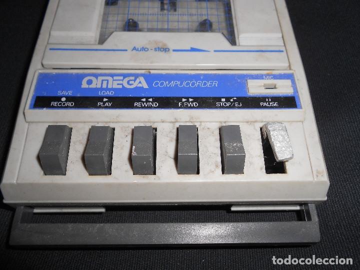 OMEGA COMPUCORDER PORTABLE CASSETTE C64 PLAYER RECORDER COMPUTER COMMODORE (Juguetes - Videojuegos y Consolas - Otros descatalogados)