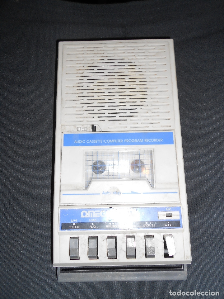 Videojuegos y Consolas: OMEGA COMPUCORDER portable cassette c64 player recorder computer Commodore - Foto 2 - 173839613