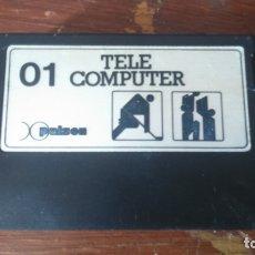 Videojuegos y Consolas: JUEGO VIDEOCONSOLA PALSON TELE COMPUTER 01. Lote 173959295