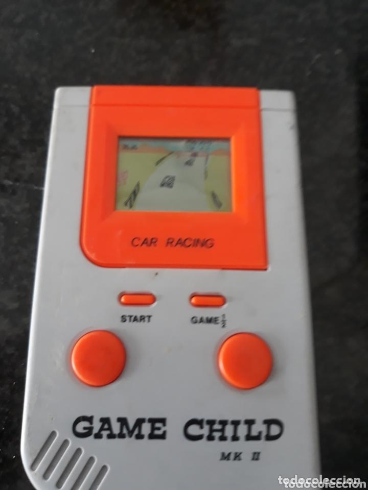 Videojuegos y Consolas: MAQUINITA GAME CHILD-M k 2 CON JUEGO CAR RACING -MUTI -FUNCIONANDO - Foto 2 - 174008798