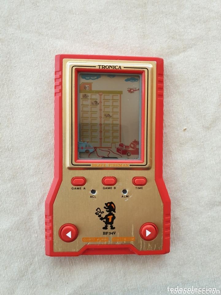 MÁQUINA TIPO GAME & WATCH TRONICA BRAVE FIREMAN (Juguetes - Videojuegos y Consolas - Otros descatalogados)