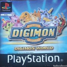 Videojuegos y Consolas: PLAYSTATION CATÁLOGO DIGIMON DIGITAL MONSTERS DIGIMON WORLD. Lote 174386719