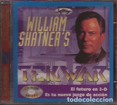 JUEGO CD ROM PARA PC TEKWAR WILLIAM SHATNER SOFTKEY MULTIMEDIA (Juguetes - Videojuegos y Consolas - Otros descatalogados)