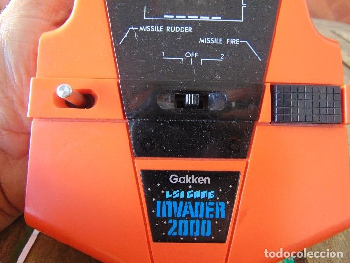 Videojuegos y Consolas: MAQUINA MAQUINITA GAKKEN LSI GAME INVADER 2000 MADE IN JAPAN - Foto 3 - 174963108
