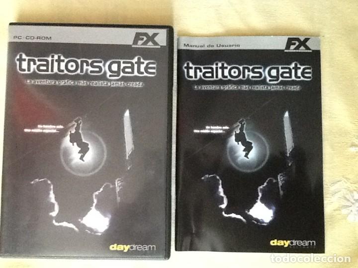 VIDEO JUEGO, PC - CD- ROM FX. TRAITORS GATE. 4 DISCOS Y LIBRO DE INSTRUCCIONES. (Juguetes - Videojuegos y Consolas - Otros descatalogados)