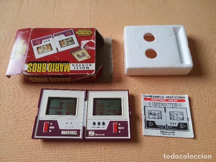 GAME WATCH POCKETSIZE MARIO BROS (Juguetes - Videojuegos y Consolas - Otros descatalogados)