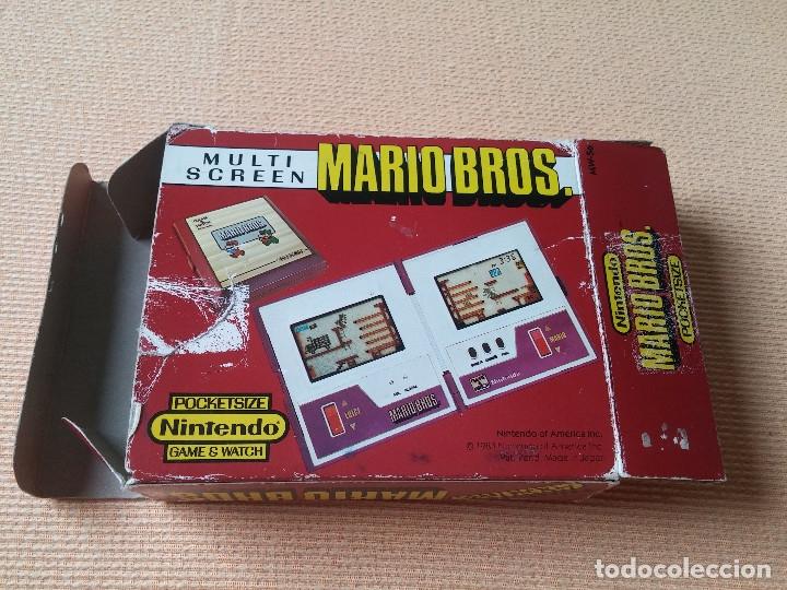 Videojuegos y Consolas: Game Watch pocketsize Mario Bros - Foto 2 - 175227314