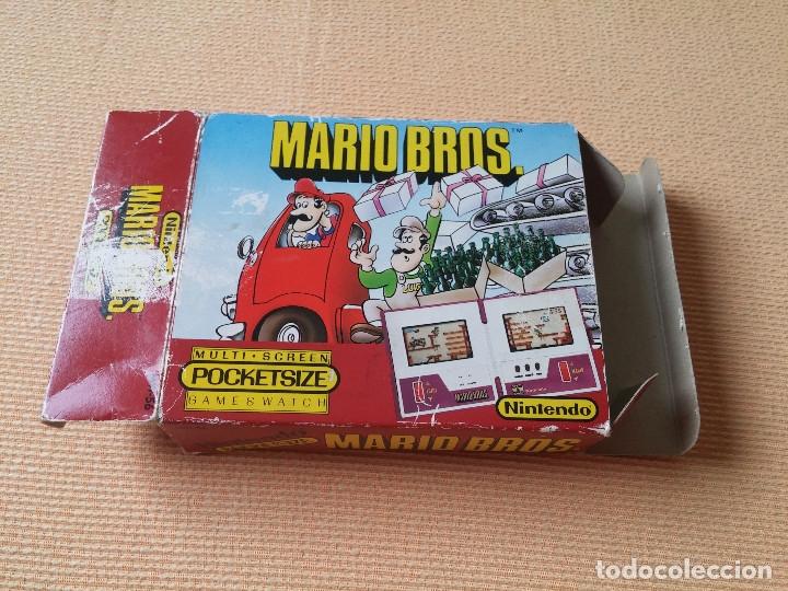 Videojuegos y Consolas: Game Watch pocketsize Mario Bros - Foto 3 - 175227314