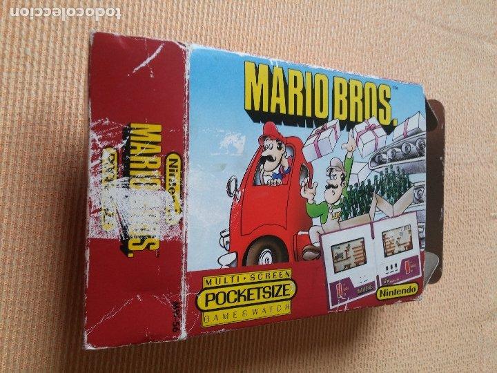 Videojuegos y Consolas: Game Watch pocketsize Mario Bros - Foto 4 - 175227314