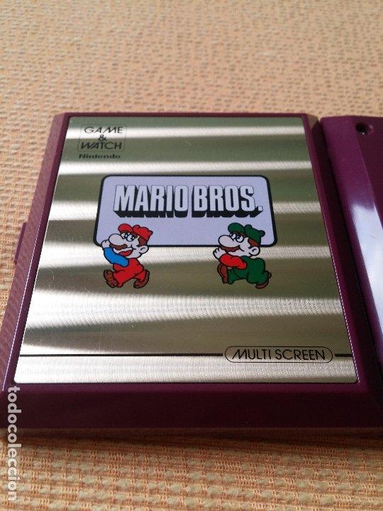 Videojuegos y Consolas: Game Watch pocketsize Mario Bros - Foto 8 - 175227314