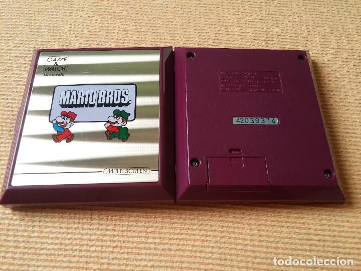 Videojuegos y Consolas: Game Watch pocketsize Mario Bros - Foto 9 - 175227314