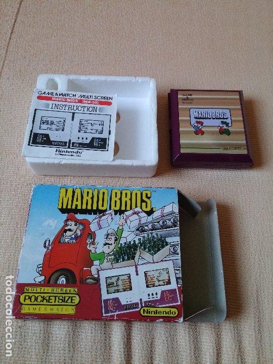 Videojuegos y Consolas: Game Watch pocketsize Mario Bros - Foto 10 - 175227314