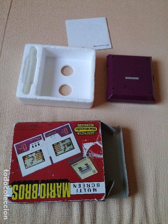 Videojuegos y Consolas: Game Watch pocketsize Mario Bros - Foto 11 - 175227314
