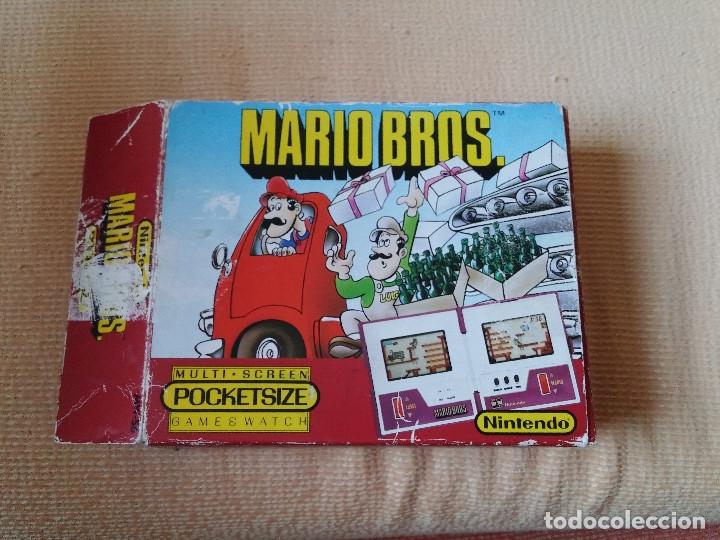Videojuegos y Consolas: Game Watch pocketsize Mario Bros - Foto 12 - 175227314
