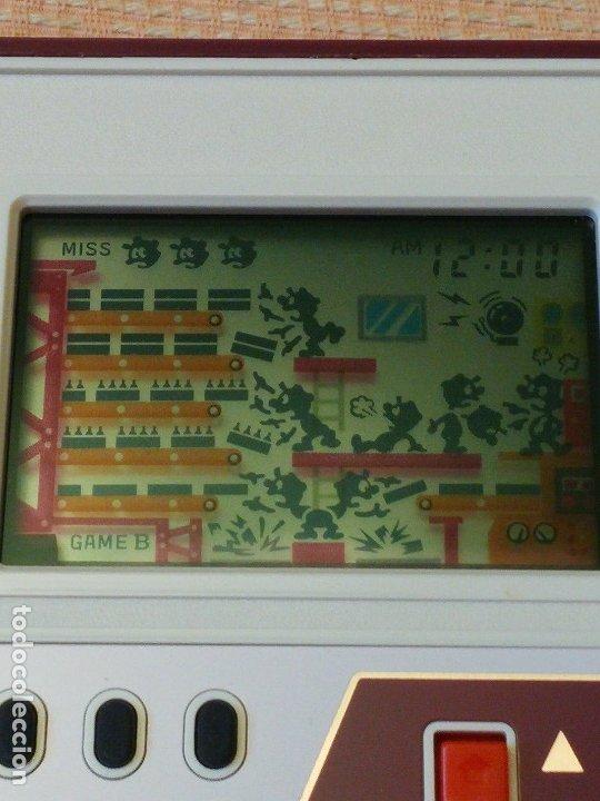 Videojuegos y Consolas: Game Watch pocketsize Mario Bros - Foto 15 - 175227314