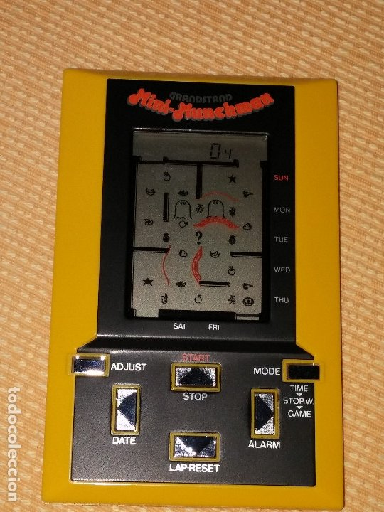 Videojuegos y Consolas: Maquinita tipo game watch lcd Munchman - Foto 3 - 175295867