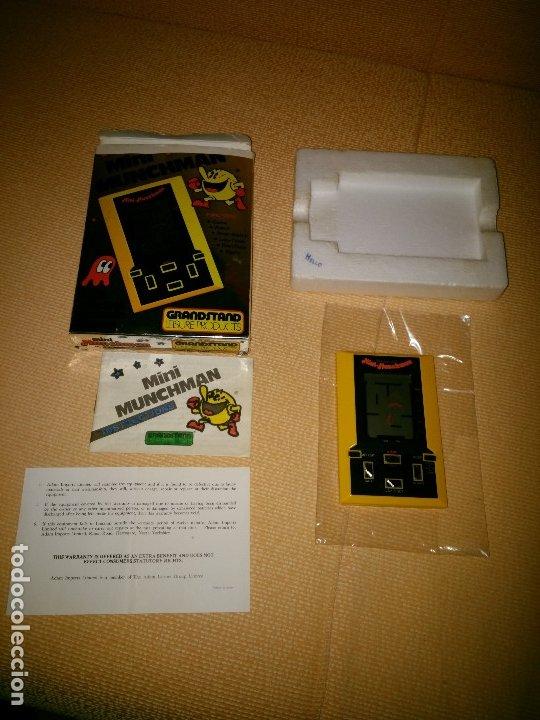 Videojuegos y Consolas: Maquinita tipo game watch lcd Munchman - Foto 8 - 175295867