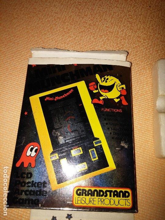 Videojuegos y Consolas: Maquinita tipo game watch lcd Munchman - Foto 9 - 175295867