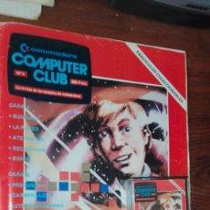 Videojuegos y Consolas: COMMODORE COMPUTER CLUB - NUMERO 4 - 1985 - CASSETTE + REVISTA - COMMODORE 64. Lote 175348089