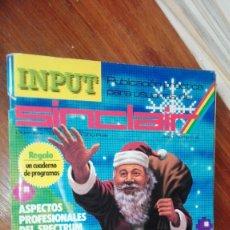 Videojuegos y Consolas: REVISTA INPUT SINCLAIR Nº 4. Lote 175348764