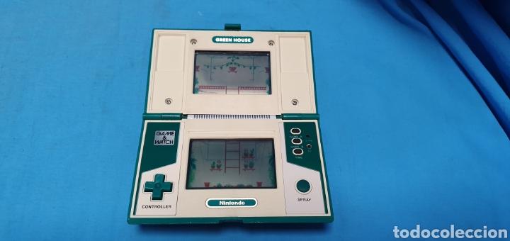Videojuegos y Consolas: Nintendo game & watch green house multi screen - Foto 6 - 175740554
