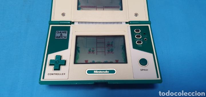 Videojuegos y Consolas: Nintendo game & watch green house multi screen - Foto 8 - 175740554