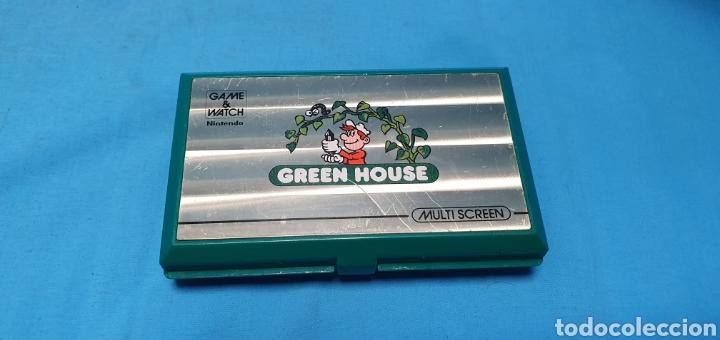 NINTENDO GAME & WATCH GREEN HOUSE MULTI SCREEN (Juguetes - Videojuegos y Consolas - Otros descatalogados)
