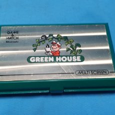 Videojuegos y Consolas: NINTENDO GAME & WATCH GREEN HOUSE MULTI SCREEN. Lote 175740554