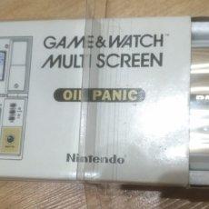 Videojuegos y Consolas: GAME WATCH NINTENDO OIL PANIC OP-51. Lote 175817602