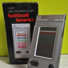 Videojuegos y Consolas: GAME WATCH SPITBALL SPARKY BU-201. Lote 175885152