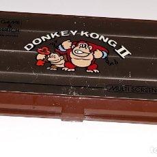 Videojuegos y Consolas: ANTIGUA NINTENDO GAME & WATCH MULTI SCREEN : DONKEY KONG II MADE IN JAPAN AÑO 1983. Lote 175965814