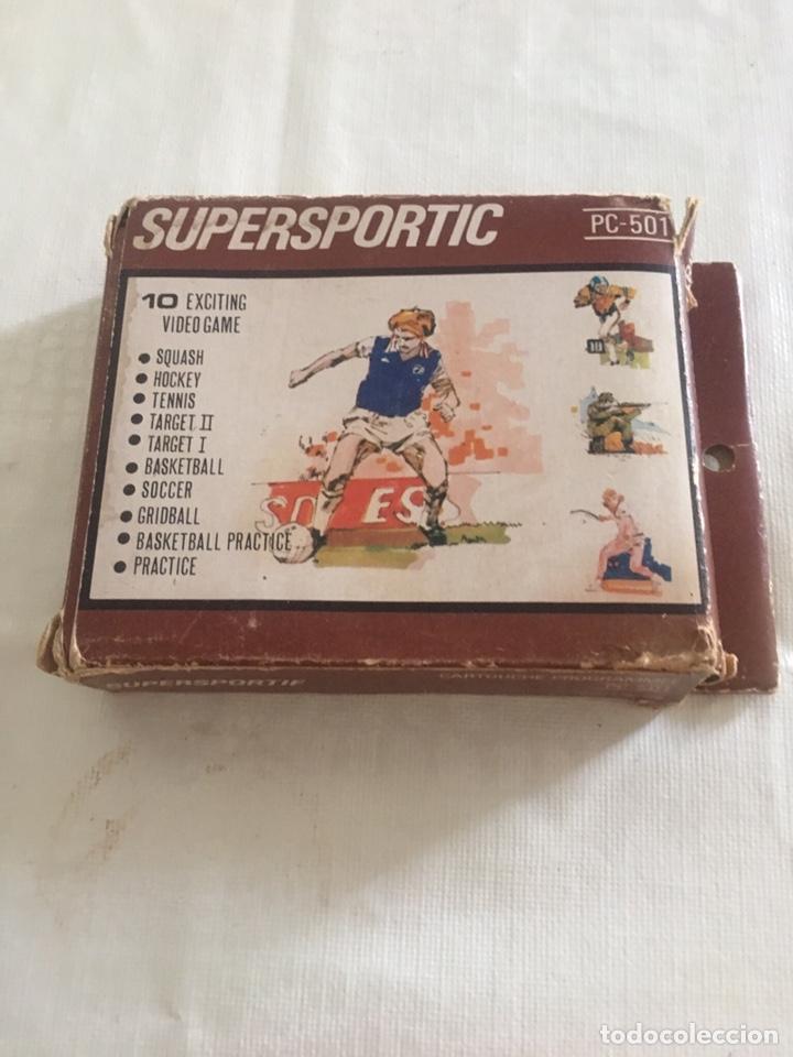 Videojuegos y Consolas: Antiguo cartucho consola de juego HANIMEX - SUPERSPORTIC- Pc - 501 - Foto 2 - 176072653