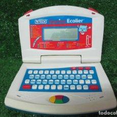 Videojuegos y Consolas: ORDENADOR INFANTIL VTECH GENIUS ECOLIER IDIOMA FRANCES FUNCIONANDO. Lote 176170827