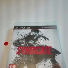 Videojuegos y Consolas: SYNDICATE. PS3. PLAYSTATION 3.. Lote 176230969