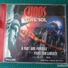 Videojuegos y Consolas: CHAOS CONTROL - PHILIPS CDI - 1995. Lote 176440168