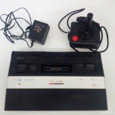 Videojuegos y Consolas: ANTIGUA CONSOLA DE JUEGOS TV GAME, CON ADAPTADOR Y JOYSTICK. Lote 176549989