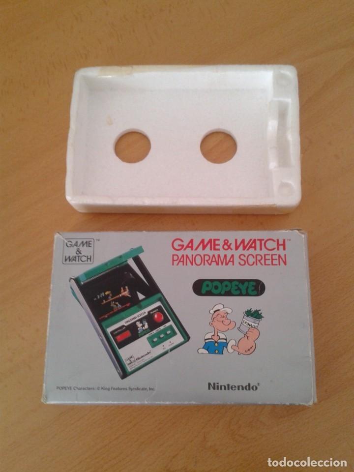 NINTENDO GAME&WATCH PANORAMA POPEYE PG-92 CAJA COMPLETA BOX&FOAM VER NEAR MINT R9365 (Juguetes - Videojuegos y Consolas - Otros descatalogados)
