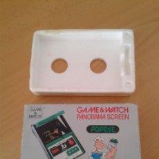 Videojuegos y Consolas: NINTENDO GAME&WATCH PANORAMA POPEYE PG-92 CAJA COMPLETA BOX&FOAM VER NEAR MINT R9365. Lote 177812273