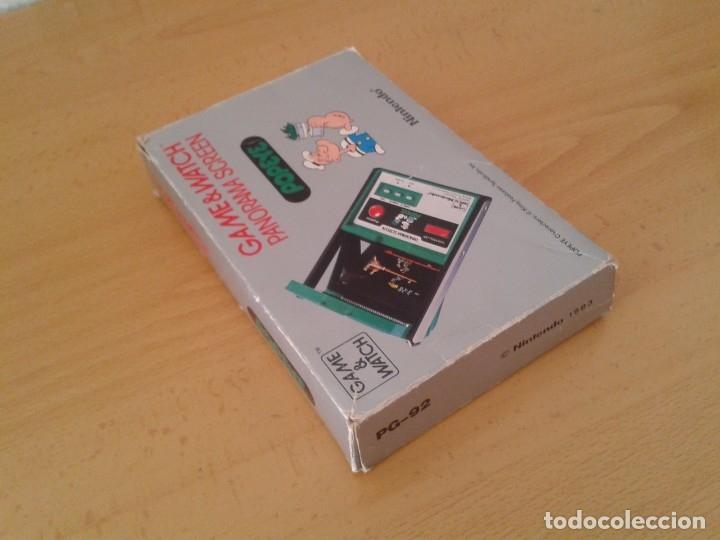Videojuegos y Consolas: NINTENDO GAME&WATCH PANORAMA POPEYE PG-92 CAJA COMPLETA BOX&FOAM VER NEAR MINT R9365 - Foto 6 - 177812273
