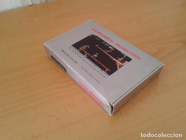 Videojuegos y Consolas: NINTENDO GAME&WATCH PANORAMA POPEYE PG-92 CAJA COMPLETA BOX&FOAM VER NEAR MINT R9365 - Foto 7 - 177812273