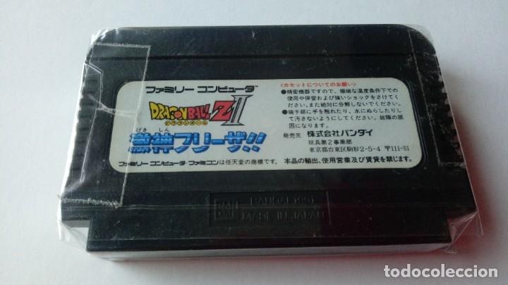Videojuegos y Consolas: Cartucho videojuego japonés NINTENDO FAMICOM DRAGON BALL Z 2. 100% ORIGINAL BANDAI, - Foto 2 - 177835165