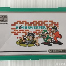 Videojuegos y Consolas: CONSOLA NINTENDO GAME & WATCH BOMB SWEEPER. Lote 178649137